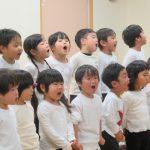 3・4・5歳児の発表会を行いました